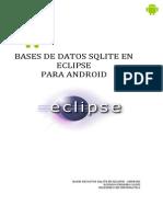 Bases de Datos Sqlite Con Android Eclipse