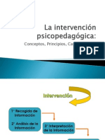 INTERVENCION PSICOPEDAGOGICA