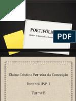 Portifólio M1 - Educação e Valores