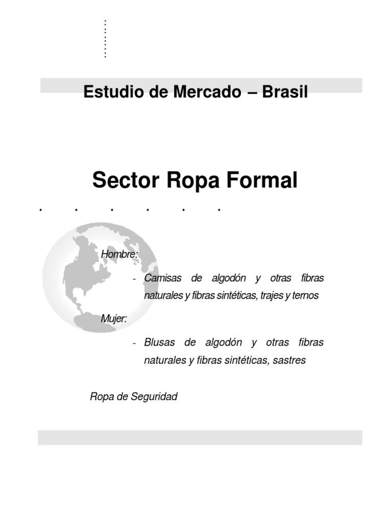 Sector Ropa Formal Brasil