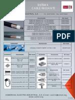 Sistema Cable Radiant e