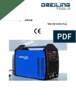 Inverter WIG200ACDC_Puls Instruciones