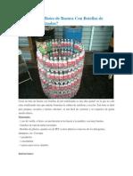 Cómo Hacer Botes de Basura Con Botellas de Plástico Reutilizadas