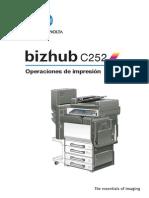 Bizhub c252 Um Print-operations Es 1-1-1 Phase3