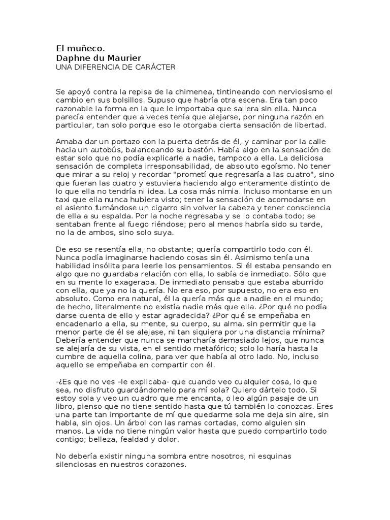 el muneco daphne du maurier pdf