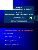 Topic 5 Rotational and Vibrational Spectroscopy