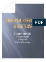 Hormonal Barriers  Obesity