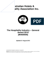 Hospitality+Industry+(General)+Award+2010+Updated+August+2013