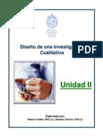 02. Diseño de una Investigación Cualitativa