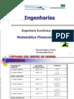 5Matematica Financeira Primeira Lista de Exercicios