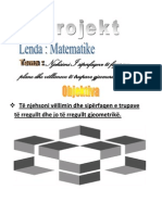 Njehsimi I siperfaqeve të figurave plane dhe vëllimeve të trupave gjeomerikë