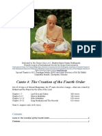 Study Guide to Srimad Bhagvatam Canto 4