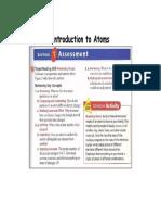 q1 Scichem Introduction to Atoms Exercises