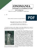 TAXONOMANIA 17