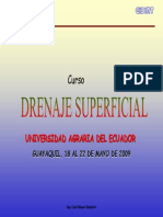 Drenaje Superficial Uae