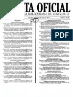 GACETA OFICIAL Nº 40.166 (PRECIO POLLO,CARNE,LECHE Y QUESO)