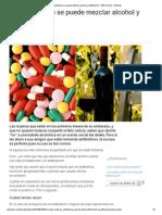 BBC_Alcohol y antibióticos