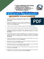 Ejercicios Aplicativos Matemáticas Financieras