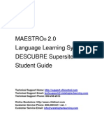 DESCUBRE Student Guide 32010