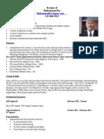 Muhammad Bey Media and Management Resume
