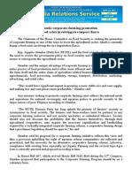 sept22.2013Solon seeks corporate farming promotion amid food crisis involving rice import fiasco