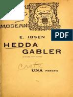 Hedda Gabler Drama 1272 i Bse