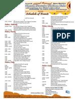 2013 Northern Navajo Nation Fair schedule