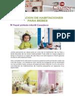 Decoracion de Habitaciones Para Bebes