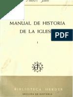 Jedin Hubert - Manual de Historia de La Iglesia - Tomo 1