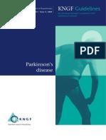 Kliniske Retningslinjer Parkinson 2011
