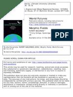 Morphic Fields and morphic resonance