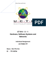 Hardware, Software Systems and Networkss
