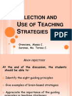 21117473 Selection and Use of Teaching Strategies