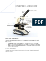 Microscopes Parts and Function