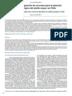 Bioética y asignación de recursos para la atención odontológica del adulto mayor en Chile