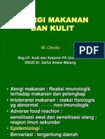 Alergi Makanan Dan Kulit
