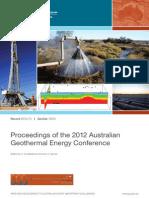 Australia Sydney Geothermal Meeting