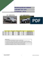 chevolet s10 manual especificações