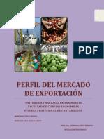 Tema 12  Perfil del Mercado de Exportación (montalvo, monteza)