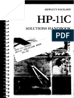HP-11C Solutions Handbook 1981
