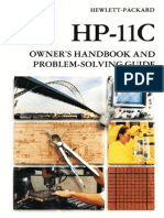 HP-11C Owner's Handbook and Problem-Solving Guide 1984 Color
