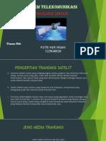 sistem transmisi satelit