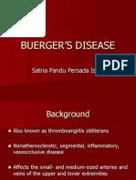 Bedah - Buerger's Disease