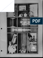 HP-19C & 29C Solutions Civil Engineering 1977 B&W