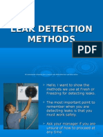 VC Leak Detection Methods