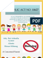 Philippine Anti-Bullying Act of 2013