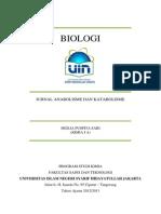 Jurnal Anabolisme Dan Katabolisme(Biologi)