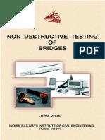 Non Destructive testing of Bridges