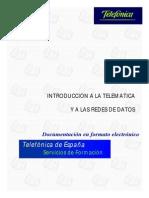 Introduccion a La Telematica y Redes de Datostelefonica