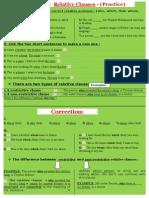 Grammar - Relative Clauses 3